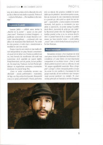 Dilemateca n°55 dec.2010, 2