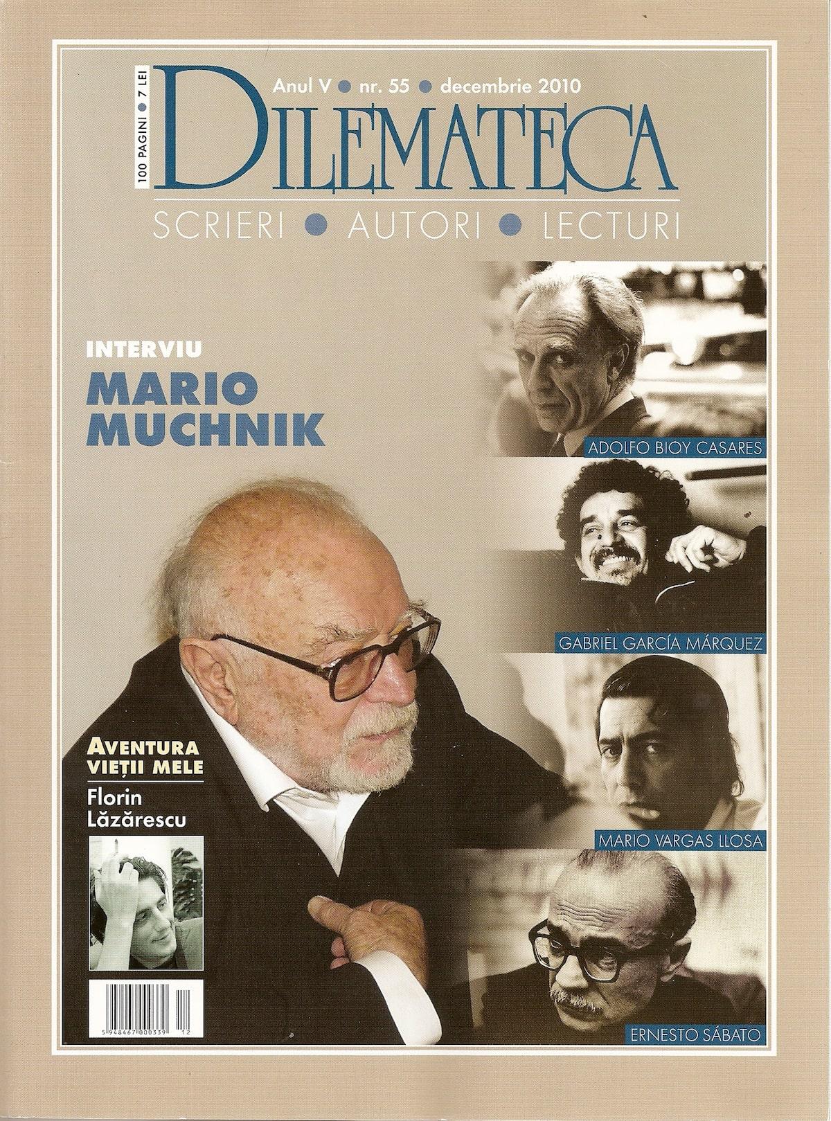 Dilemateca n°55 dec.2010, couv