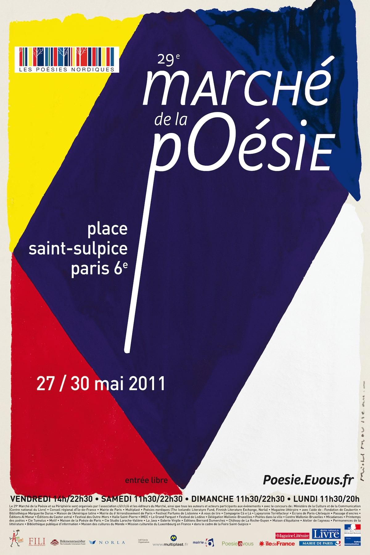 29e marché de la poésie