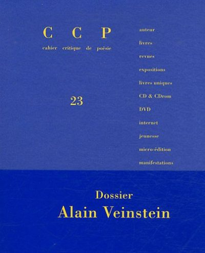 cahier critique poesie 23 mars 2012