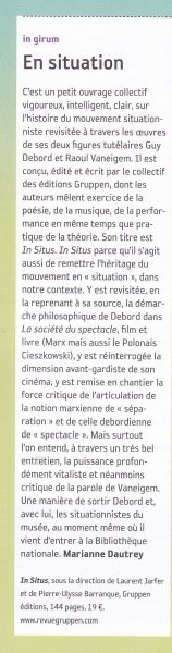 mouvement n°70 In Situs