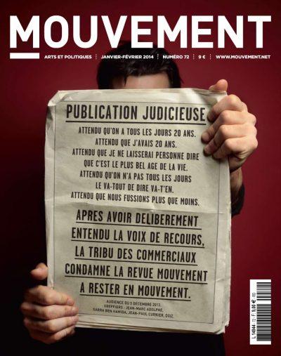 revue mouvement n°72-