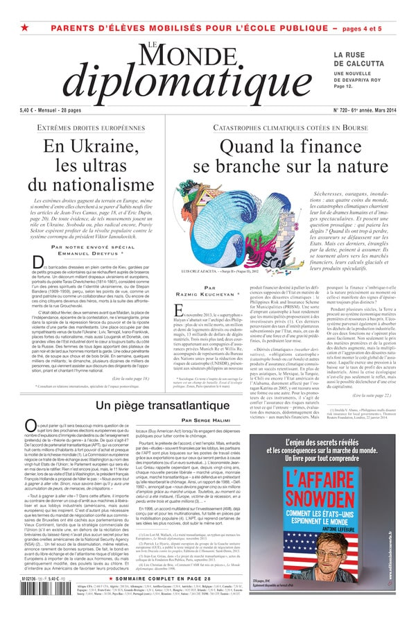 Monde Diplomatique mars 2014