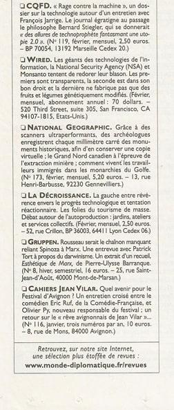 Monde Diplomatique mars-2014-