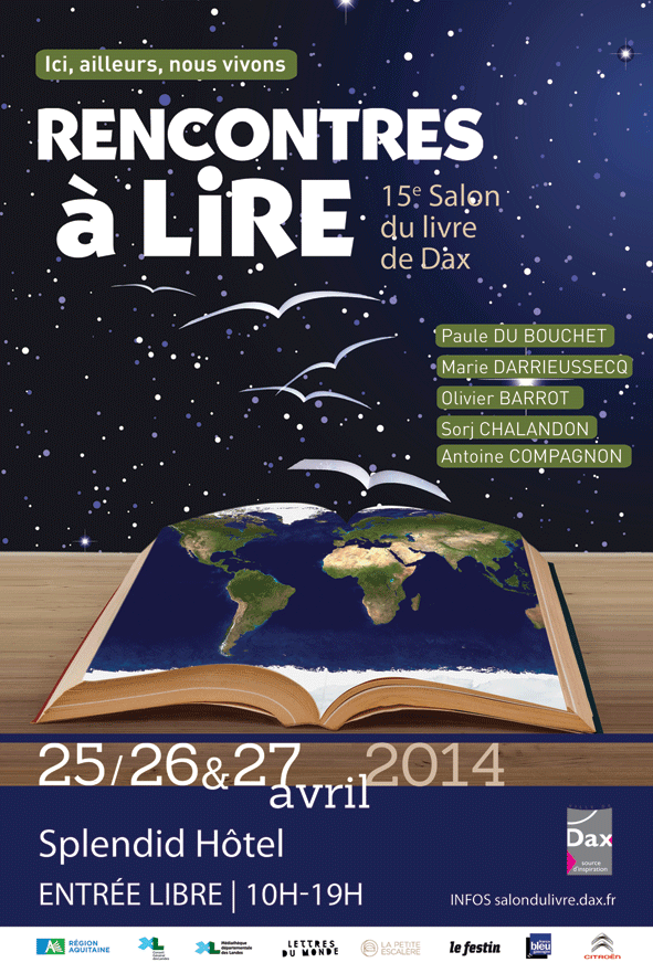 salon du livre dax avril 2014
