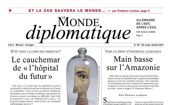 Monde Diplo oct. 2019