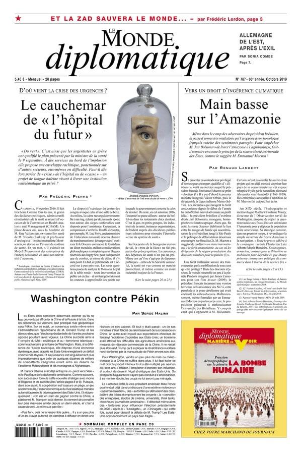 Monde Diplo oct 2019